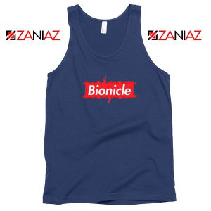 Bionicle Supreme Parody Navy Blue Tank Top