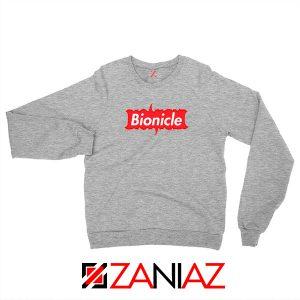 Bionicle Supreme Parody Sport Grey Sweatshirt