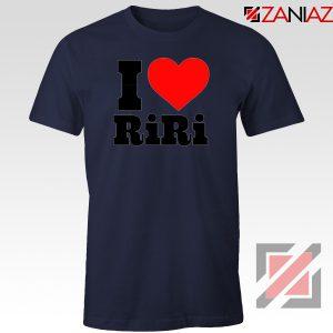 Buy I Love RiRi Navy Blue Tshirt