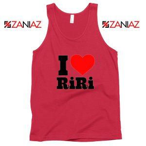 Buy I Love RiRi Red Tank Top