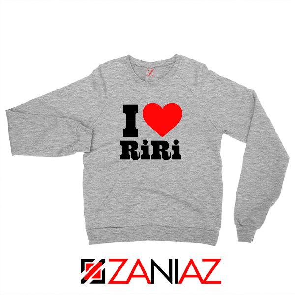 Buy I Love RiRi Sport Grey Sweater