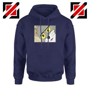 Buy Tom Meme Navy Blue Hoodie