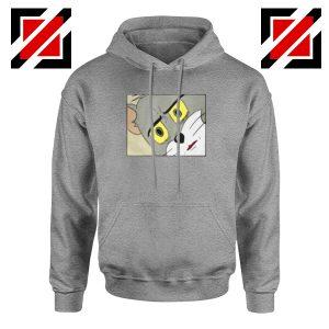 Buy Tom Meme Sport Grey Hoodie