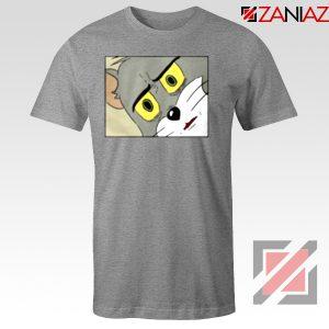 Buy Tom Meme Sport Grey Tshirt