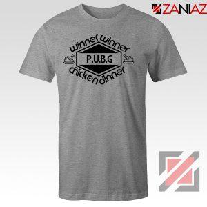 Buy Winner Winner Chicken Dinner SPort Grey Tshirt
