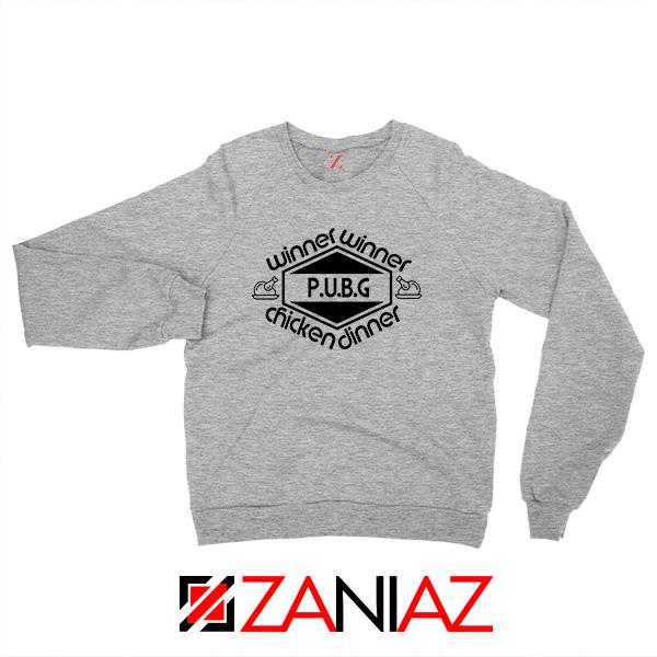 Buy Winner Winner Chicken Dinner Sport Grey Sweatshirt