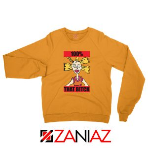 Cheap Cynthia Rugrats Orange Sweatshirt