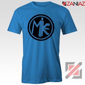 Cheap Mike Circle Blue Tshirt