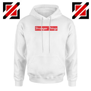 Cheap Stranger Things Supreme Parody Hoodie