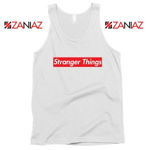 Cheap Stranger Things Supreme Parody Tank Top