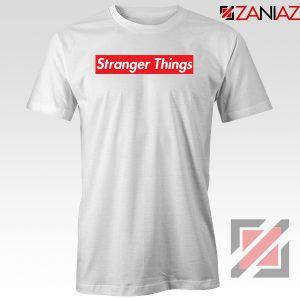 Cheap Stranger Things Supreme Parody Tshirt