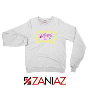 Dababy Rugrats White Sweatshirt