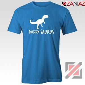 Daddy Saurus Blue Tshirt