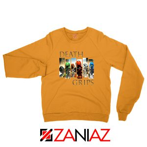 Death Grips Bionicle Toa Mata Orange Sweatshirt