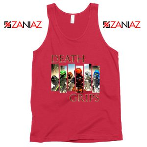 Death Grips Bionicle Toa Mata Red Tank Top