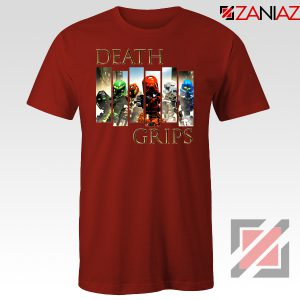 Death Grips Bionicle Toa Mata Red Tshirt