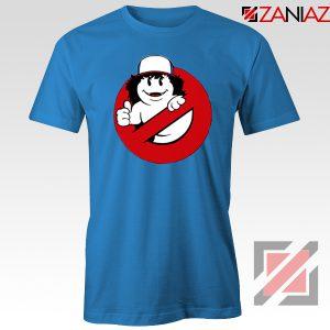 Dustin Ghostbusters Parody Blue Tshirt