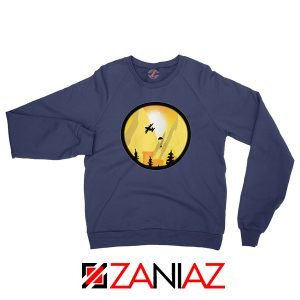 Eat Sleep Tame Repeat Navy Blue Sweatshirt