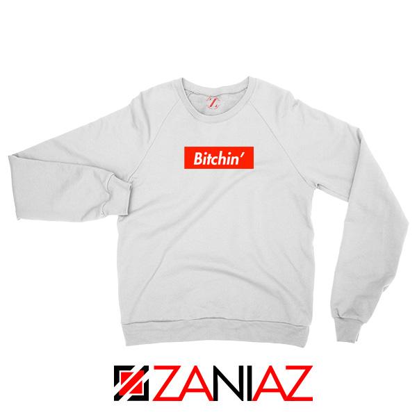Eleven Bitchin Supreme White Sweater