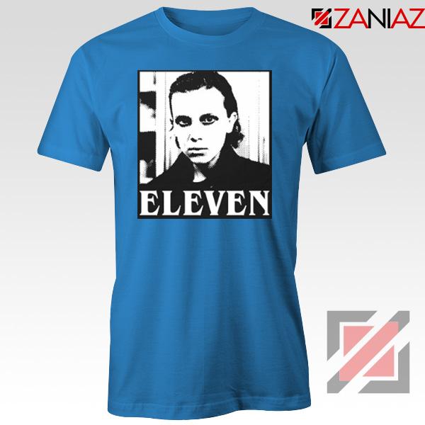 Eleven Stranger Things Graphic Blue Tshirt