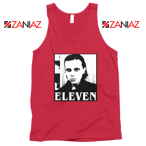 Eleven Stranger Things Graphic Red Tank Top