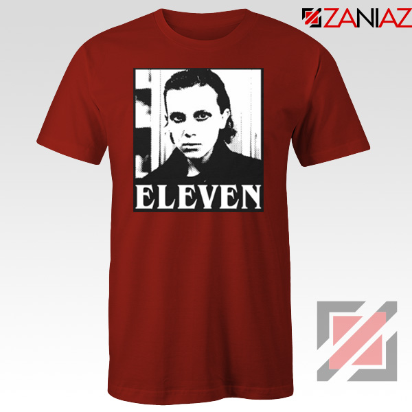 Eleven Stranger Things Graphic Red Tshirt