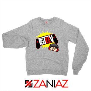 FGTEEV Gamer Tuber Sport Grey Sweatshirt