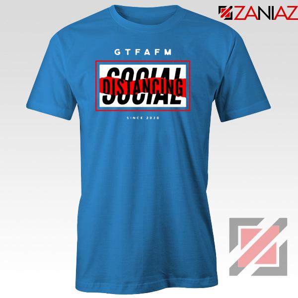 GTFAFM Coronavirus Blue Tshirt