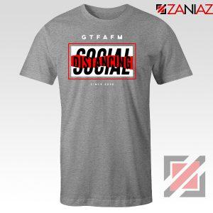 GTFAFM Coronavirus Sport Grey Tshirt