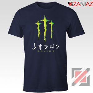 Jesus Savior Navy Blue Tshirt