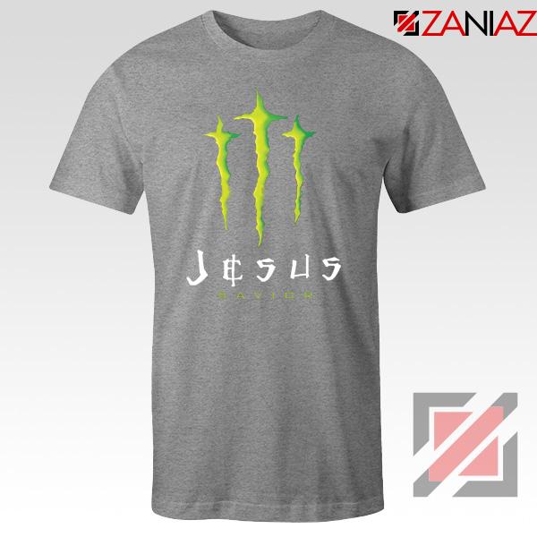 Jesus Savior Sport Grey Tshirt