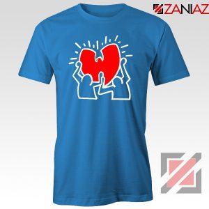 Keith Haring Rapper Blue Tshirt