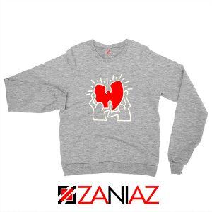 Keith Haring Rapper Sport Grey Sweatshirt