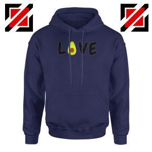 Love Avocado Navy Blue Hoodie