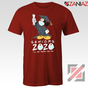 Mickey Seniors 2020 Quarantined Red Tshirt