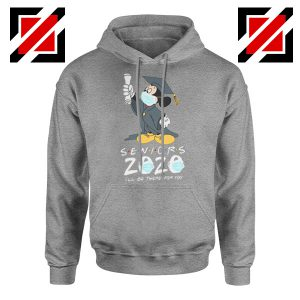 Mickey Seniors 2020 Quarantined Sport Grey Hoodie