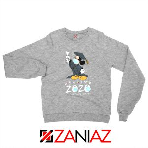 Mickey Seniors 2020 Quarantined Sport Grey Sweatshirt