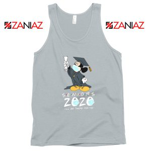 Mickey Seniors 2020 Quarantined Sport Grey Tank Top