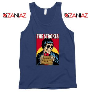 Need Strokes Tickets Will Sell Soul Navy Blue Tank Top