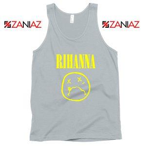 Nirvana Rihanna Sport Grey Tank Top