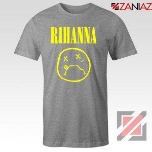 Nirvana Rihanna Sport Grey Tshirt