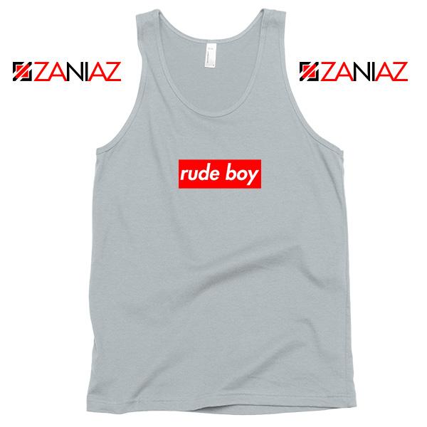 Rude Boy Rihanna Sport Grey Tank Top