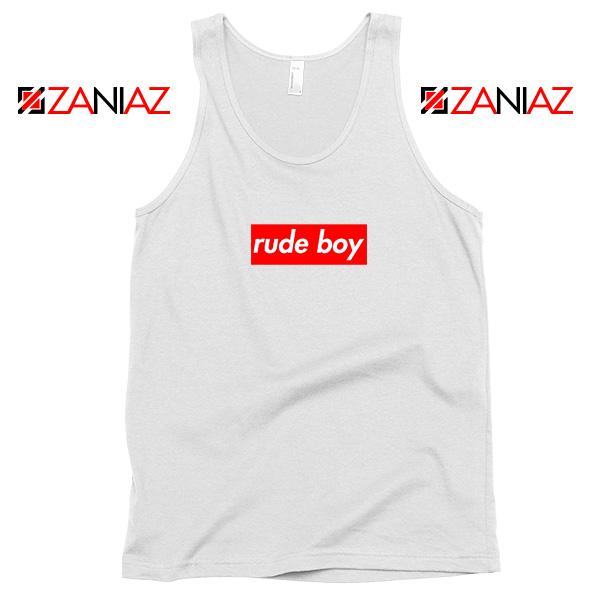 Rude Boy Rihanna Tank Top