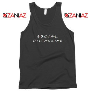 Social Distancing Friends Tank Top