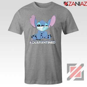 Stitch Quarantined Sport Grey Tshirt