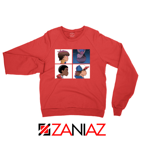 Stranger Things Characters Red Sweater