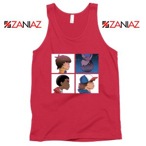 Stranger Things Characters Red Tank Top