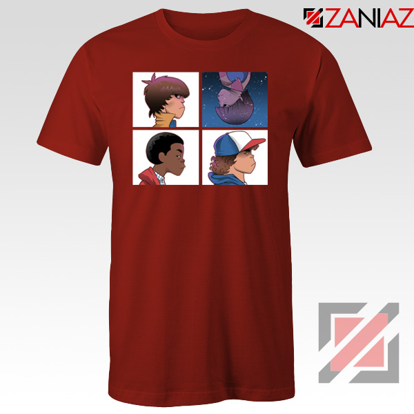 Stranger Things Characters Red Tshirt