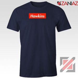 Stranger Things Hawkins Navy Blue Tshirt