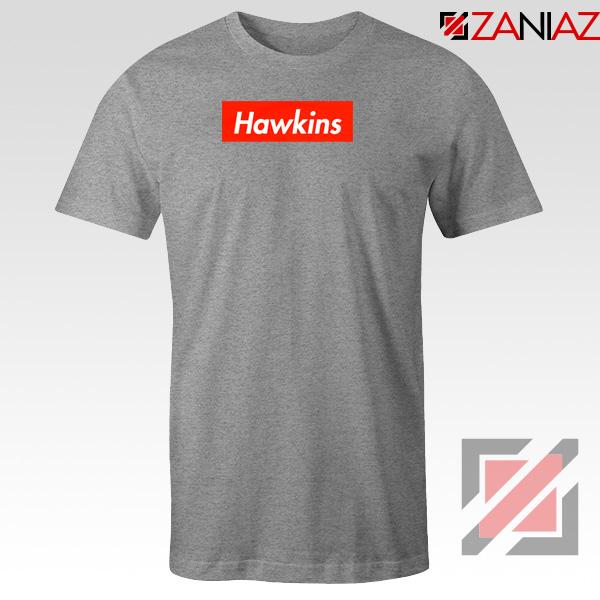 Stranger Things Hawkins Sport Grey Tshirt